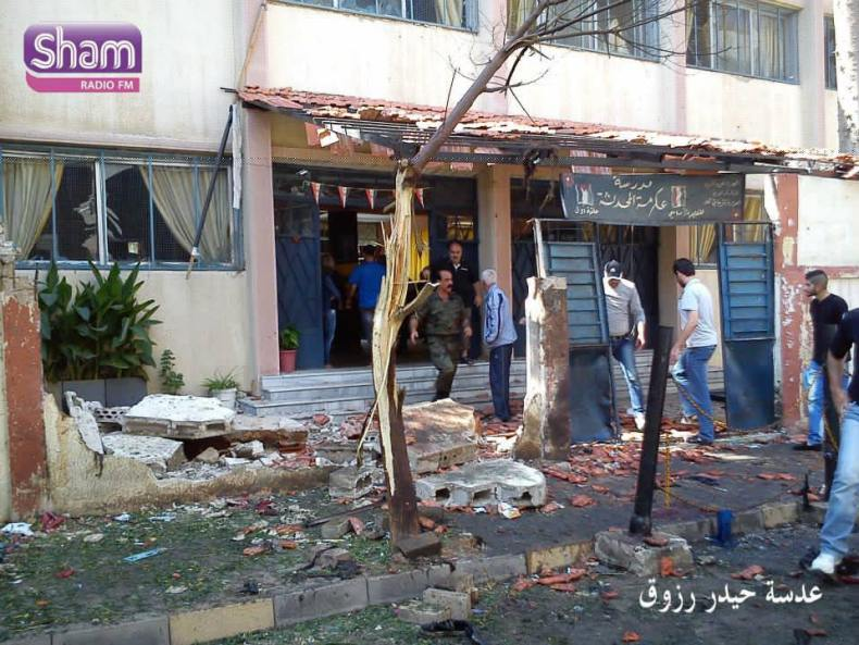 40 Children Killed in Homs after Double Explosions  (7)