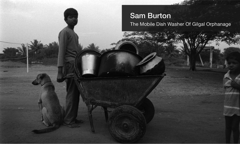 Sam Burton greyscale