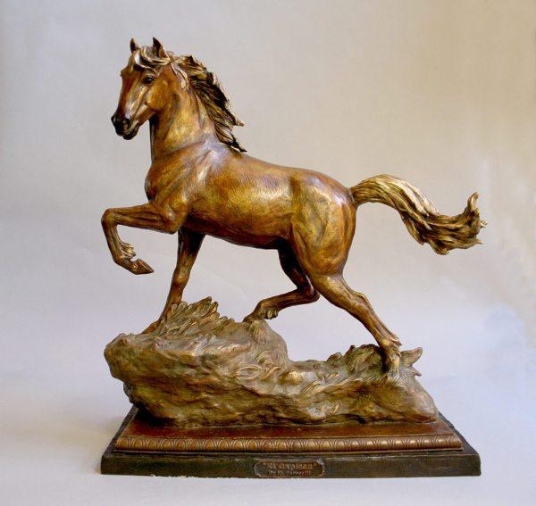 Marianne Caroselli Bronze Sculpture