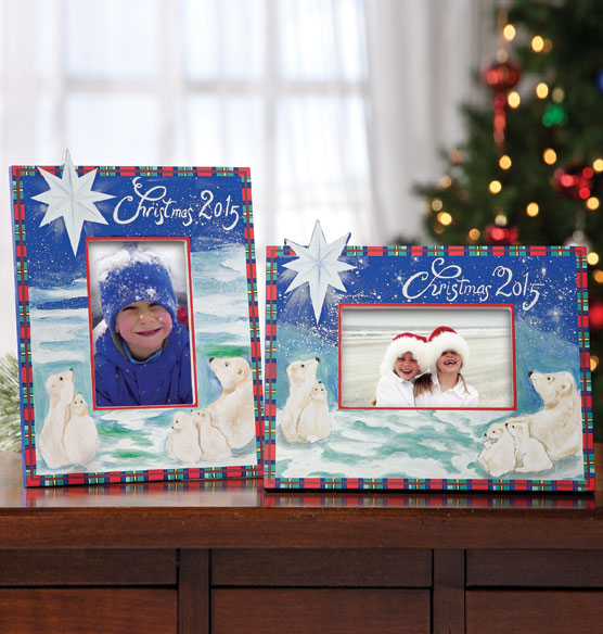 2015 Hand Painted Christmas Frame Handpainted Frames