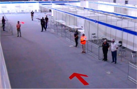 Vista del interior de la feria modelo | Captura de Video de AFEP