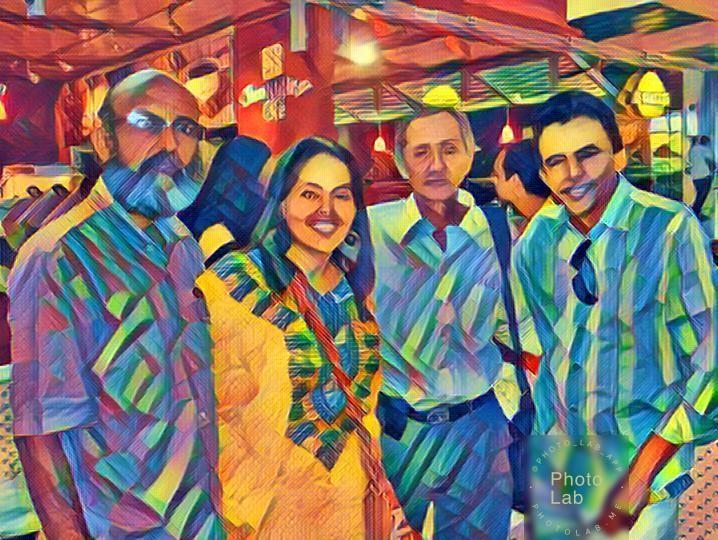 En la foto De izquierda a derecha Tomas Darío Gutiérrez, Yarime Lobo, Germán Piedrahita, Gustavo Gutiérrez