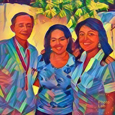Germán Piedrahita, Yarime Lobo y Marion Lecardonell Directora de la Alianza Francesa