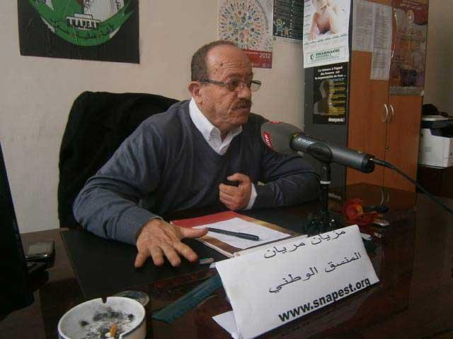 confédération des syndicats algériens