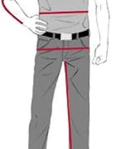 Men measurements also size chart rh express