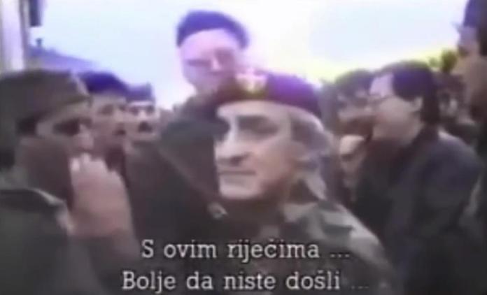 Dragan Vasiljković u Dalmatinskoj Zagori u prepirci sa Vojislavom Šešeljom | Author: YouTube