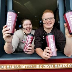 Sofaworks Barrow Fabric Sectional Sofa With Recliner Drive-through Costa Coffee Opens In Cannock | Express & Star