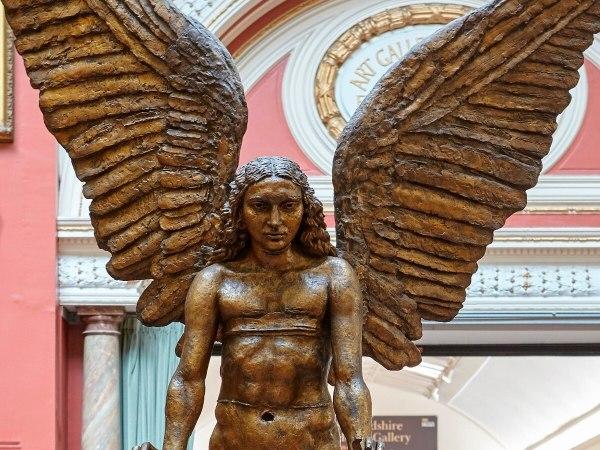 Birmingham Museum And Art Lucifer Sculpture