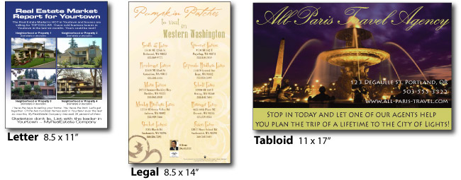 Flyers  Brochures Printing Online