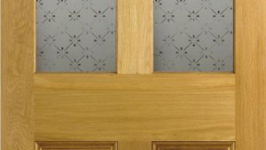 Malton Screen Print Glazed Oak Interior Door Express Doors