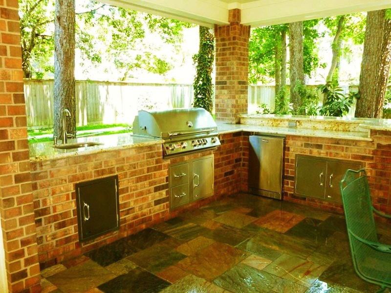 Outdoor Living spaces gallery Houston Outdoor Kitchen