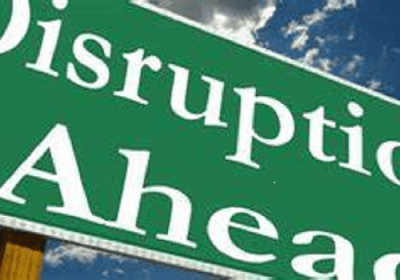 Living with purpose; the antidote to a disruptive world