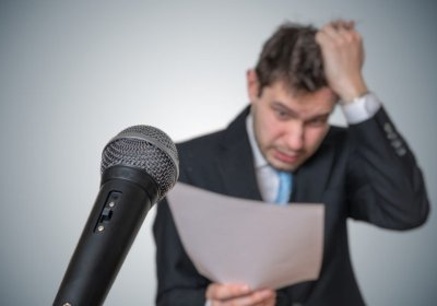 Feel the fear of presenting…and do it anyway!