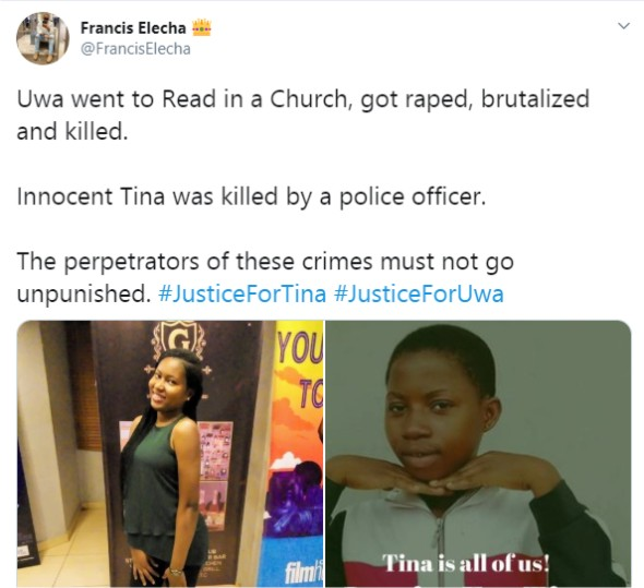 #JusticeForUwa