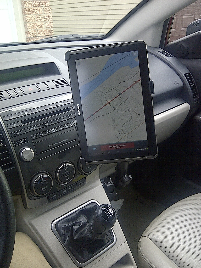 Ipad GPS And Mount Photos And Articles