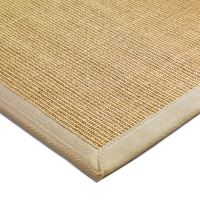 Natural Sisal Rugs and Hall Runners with Beige Border from ...