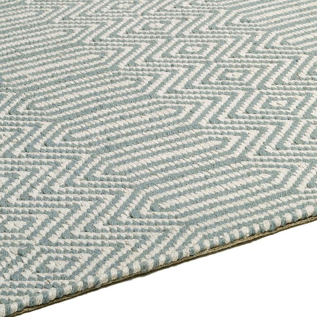 Sloan Duck Egg Blue Hall Runners and Rugs  Express Rugs