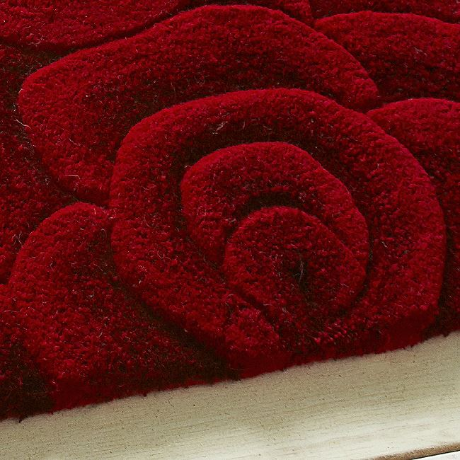 Valentines Rugs Red Rose From 89 With Free Delivery