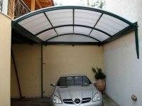 Cobertura de policarbonato para garagem - Express Toldos