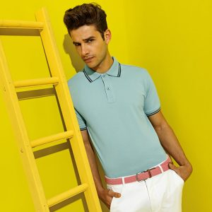 Asquith & Fox Men's Classic Fit Tipped Polo