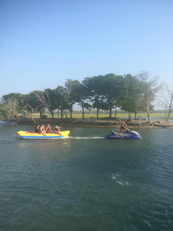 Banana Boat Rides in Myrtle Beach Express Watersports