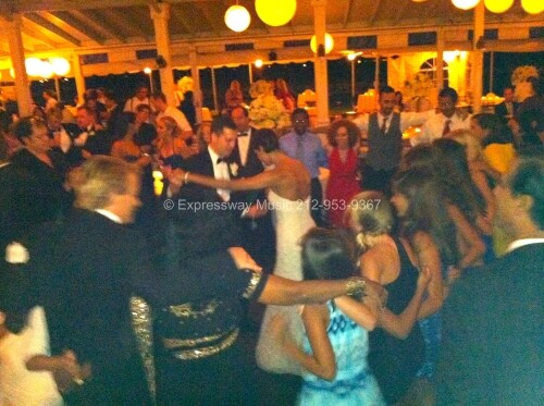 Dancing at wedding at the Larchmont Yacht Club