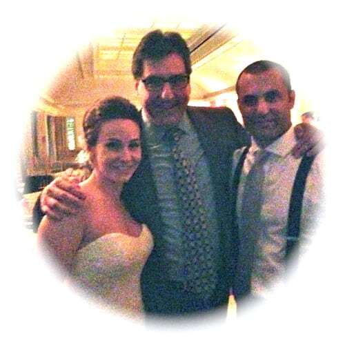 DJ Dave and Bride and Groom at the Hay Adams