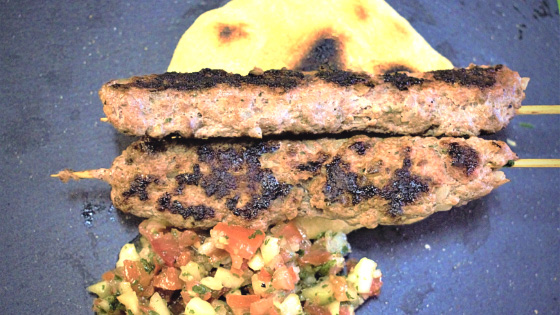 Spiedini di carne macinata marocchini