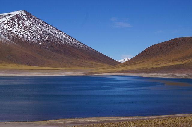 vuelos baratos Chile. laguna