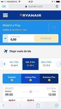 comprar vuelos baratos app skyscanner