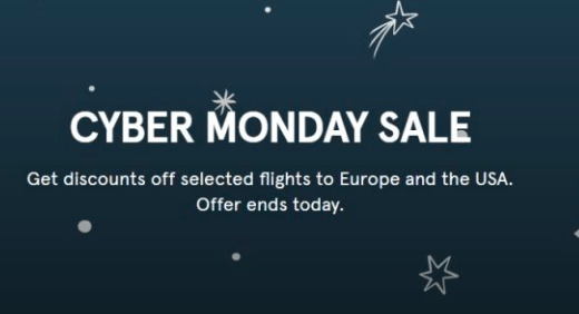 ofertas cyber monday norwegian