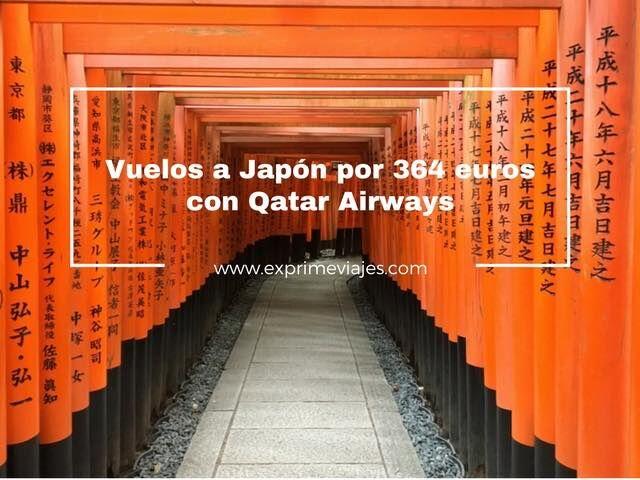 japón oferta vuelos qatar airways