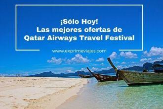 qatar airways travel festival las mejores ofertas