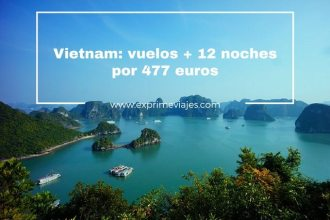vietnam vuelos 12 noches