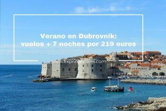 dubrovnik vuelos 7 noches 219 euros