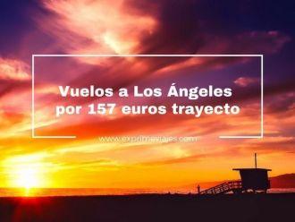 los ángeles vuelos 157 euros trayecto