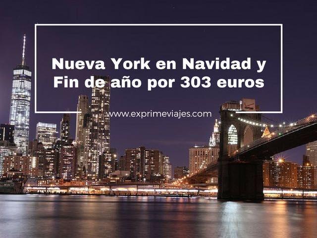nueva york navidad y fin de año 303 euros