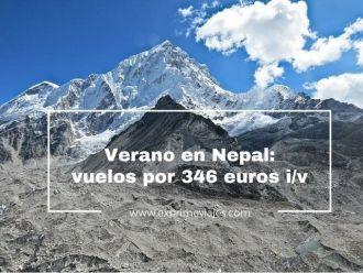 verano nepal 346 euros vuelos