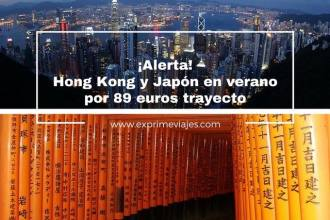 hong kong y japón tarifa error vuelos verano