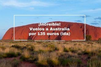 australia vuelos baratos 135 euros