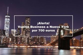 nueva york vuelos business 700 euros tarifa error