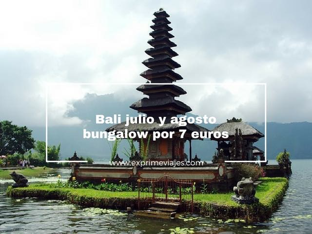 Bali julio y agosto bungalow 7 euros