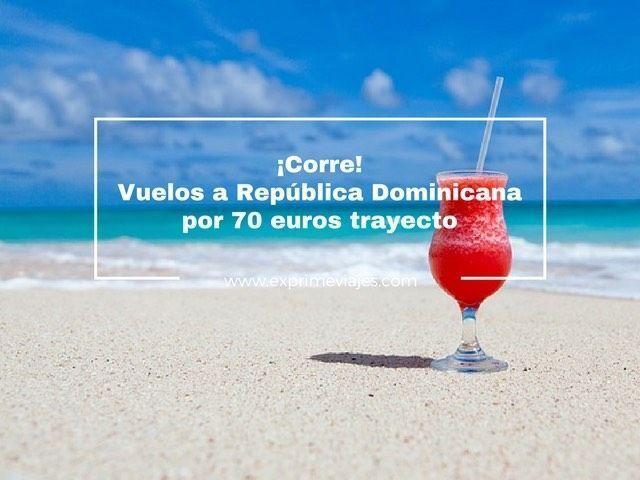 República dominicana vuelos 70 euros tarifa error