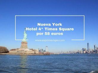 nueva york tarifa error hotel 4 estrellas times square