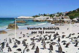 sudáfrica vuelos por 381 euros desde madrid