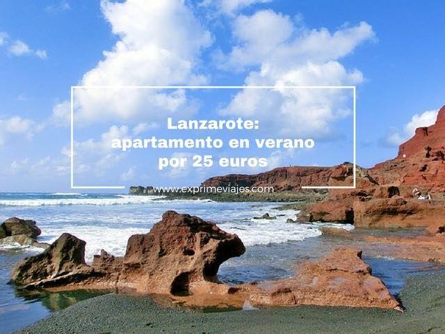 Lanzarote apartamento en verano por 25 euros noche