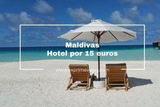maldivas por 15 euros