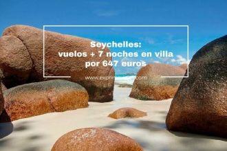 seychelles vuelos 7 noches 647 euros