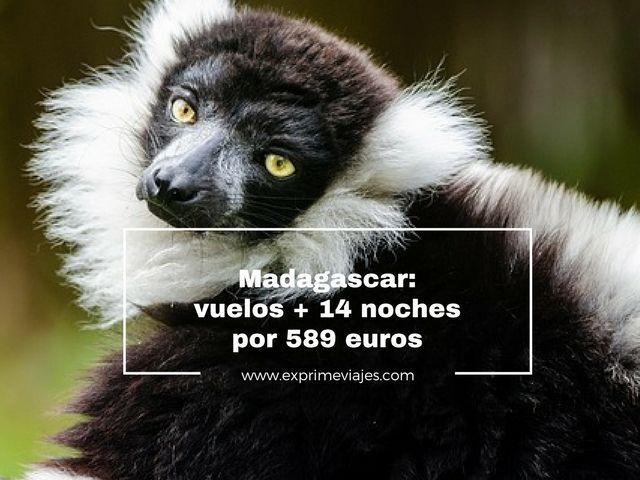 MADAGASCAR: VUELOS + 14 NOCHES POR 589EUROS