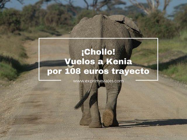 vuelos a kenia 108 euros trayecto tarifa error